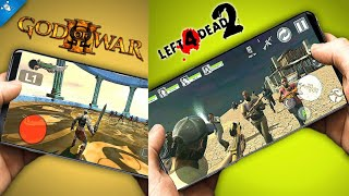 Left 4 Dead 2 En Android God Of War 3 Y Mas - Top Juegos Android  Yes Droid