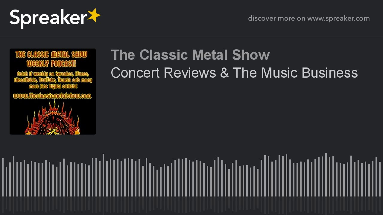 Concert Reviews   The Music Business