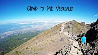 Hike to Summit of Mt  Vesuvius Volcano near Naples, Italy