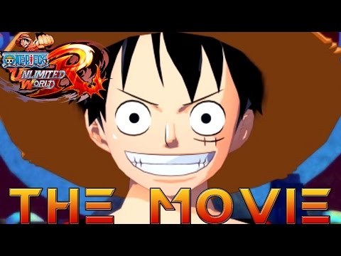 One Piece: Unlimited World Red THE MOVIE (2014) All Cutscenes [HD]
