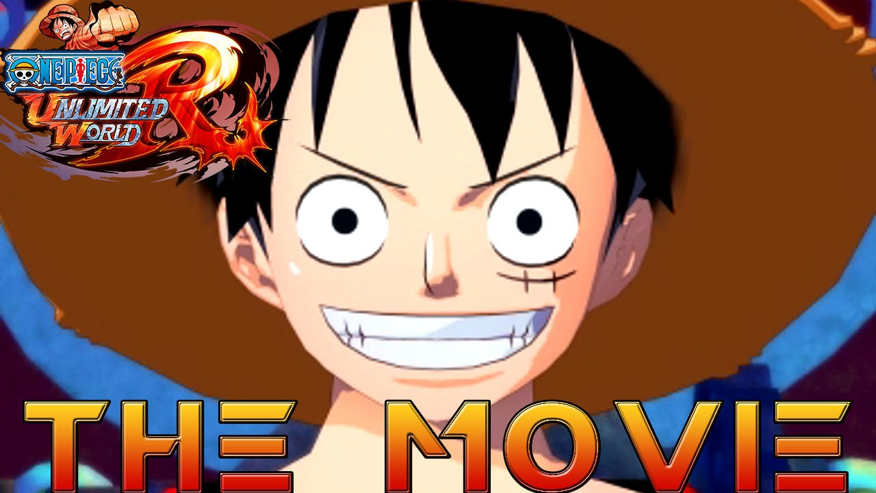 One Piece Unlimited World Red THE MOVIE 2014 All Cutscenes HD