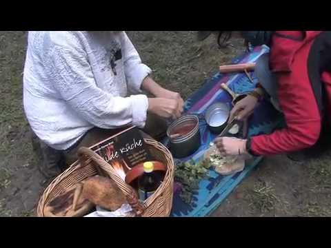 wilde küche - kochen am offenen feuer - youtube