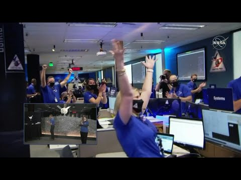 AFP News Agency: Scientists celebrate as NASA probe touches down on asteroid Bennu | AFP