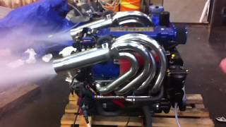 Mercury Racing 525hp boat engine, nice sound !