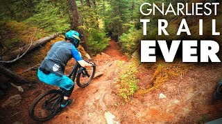 THE HARDEST BIKE TRAIL IN THE WORLD? | It doesn't go well for me
