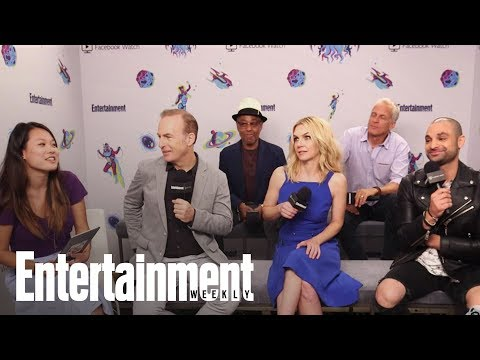 'Better Call Saul': Bob Odenkirk On The Comedy In The New Season | SDCC 2018 | Entertainment Weekly