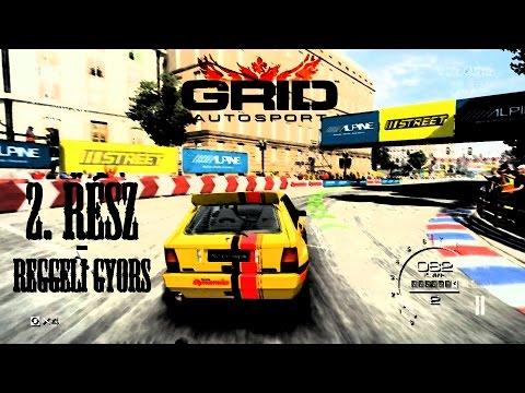 GRID Autosport Gameplay 2. rész (HUN - Magyar)