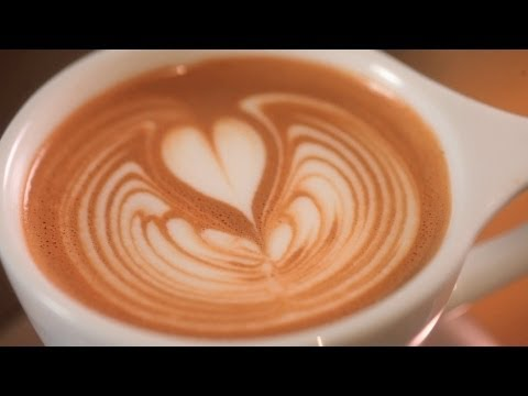 How to Pour a Rippled Tulip | Latte Art