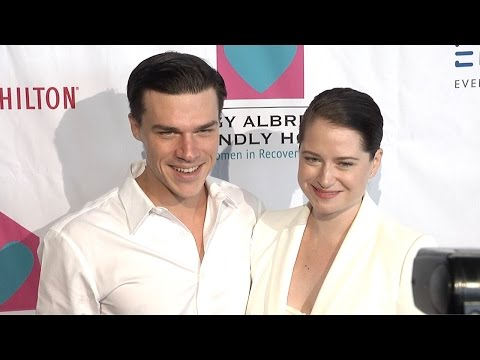 Finn Wittrock & Sarah Roberts  Peggy Albrecht Friendly House's 26th Annual Awards Luncheon