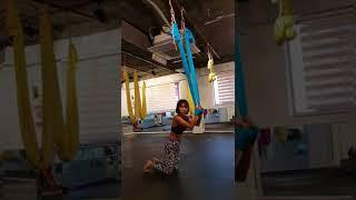 초보 플라잉요가강사님이 동작시 숙지하셔야 하는 기본!!부장가사나와 플라잉요가의 접목!!flyingyoga.aerial Yoga.