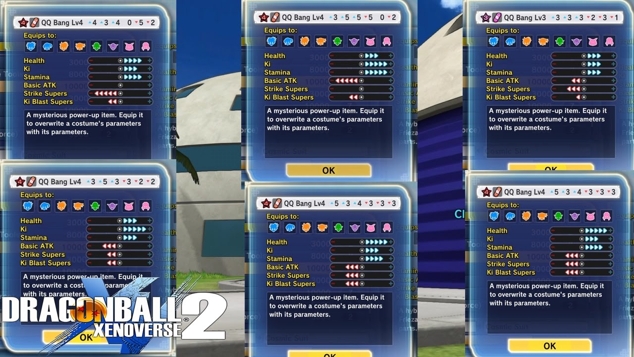 Dragon Ball Xenoverse 2: God Tier (BEST) Balance QQ Bang Recipe Ep4