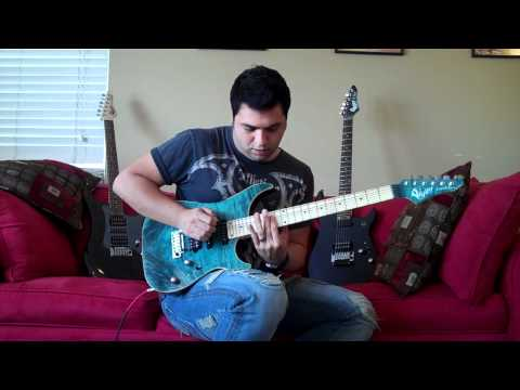 Tony Smotherman Plays a Vigier Excalibur Ultra Blues