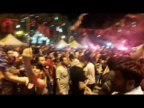 Gazi Antep çarşı Sampiyonluk Kutlamaları