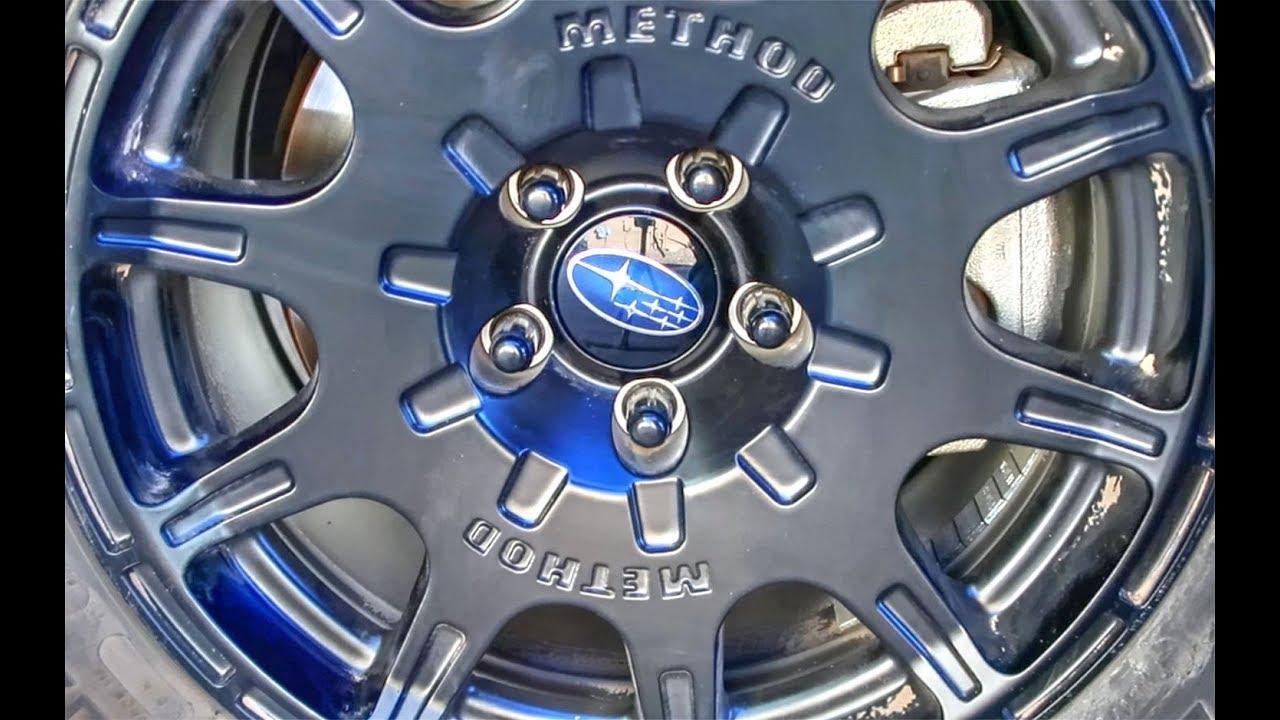 2018 crosstrek: Center caps for the Method Race Wheels ...