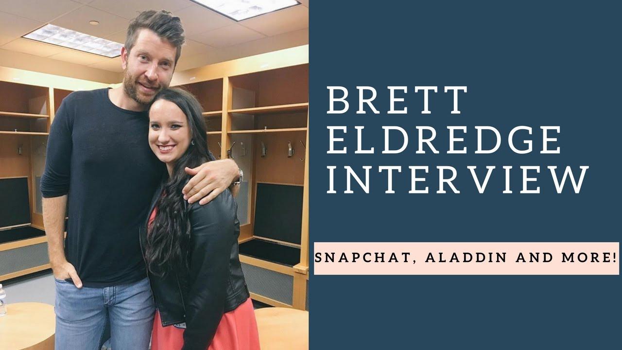 Brett eldredge interview sings aladdin talks surprising fans and brett eldredge interview sings aladdin talks surprising fans and more kristyandbryce Gallery