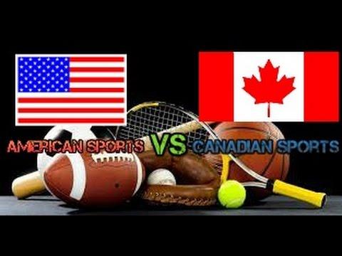 American sports VS Canadian sports
