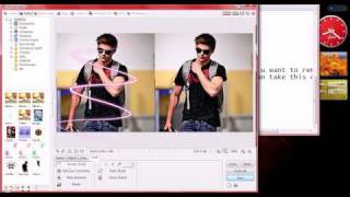 How to make swirl effects in photoscape 3.5