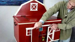 'building A Barn Toy Chest'
