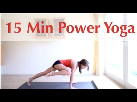 15 Minute Power Yoga