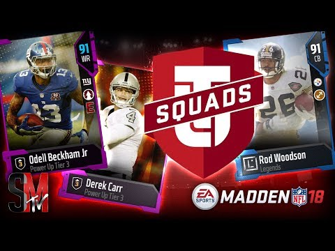 STACKED OUT MUT SQUAD! MADDEN ULTIMATE TEAM MUT SQUAD GAMEPLAY