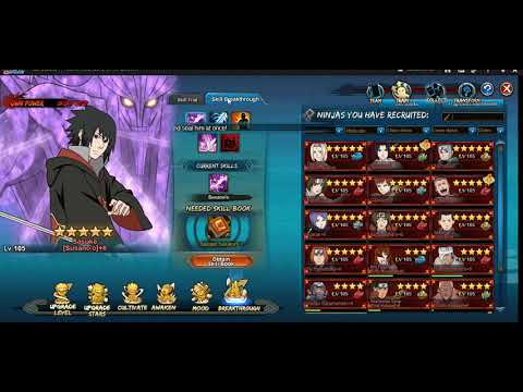 Naruto Online - Spending The Points