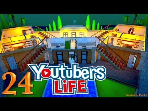 Let's Play: Youtubers Life - 024 - Unsere eigene Youtube-Villa [German/Deutsch/HD]