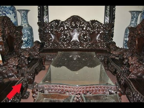 """Lạ kỳ: Ngắm bộ bàn ghế gỗ sưa """"đắt nhất"""" Việt Nam với giá 100 tỷ!"""