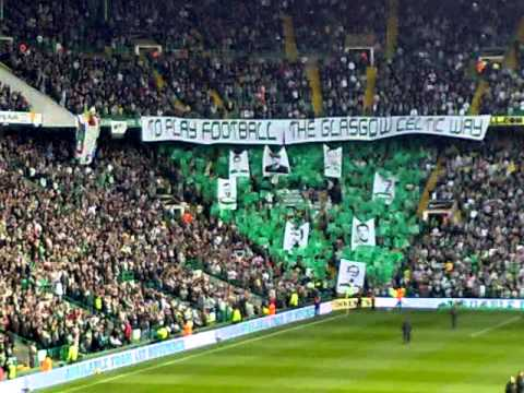 Celtic -v- Rangers Oct 2010 - Let the People Sing