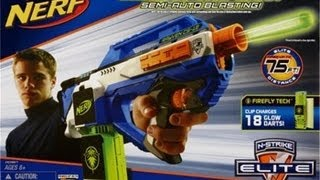 NERF Elite Rayven Unboxing and Review