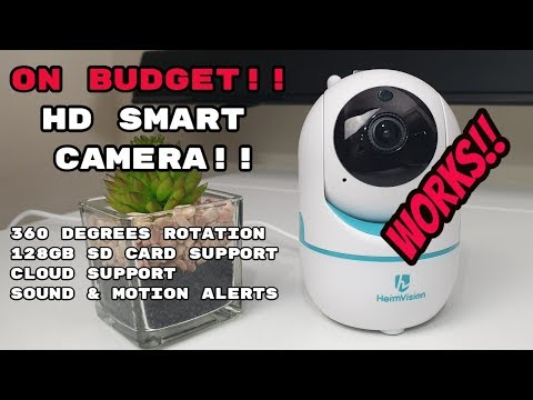Best Budget WiFi HD Security Camera HeimVision HM202
