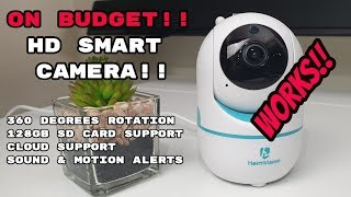 Best Budget WiFi HD Security Camera HeimVision HM202 Complete Review / Setup / Demonstration