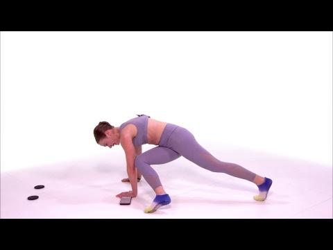 Core Sliders Workout with Jillian Dreusike | Health