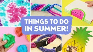 Fun Things To Do This Summer When Bored at Home! | Sea Lemon