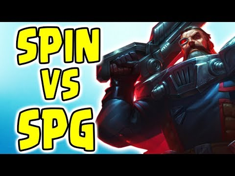 SPIN VS SPG Full Gameplay! Noway4u - League Of Legends (English/EN)