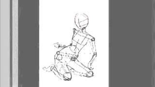 Как рисовать аниме манга  Урок 2    Каркас(Автор видеоролика: Asuro4ka. http://pastime.at.ua., 2014-04-08T23:56:40.000Z)