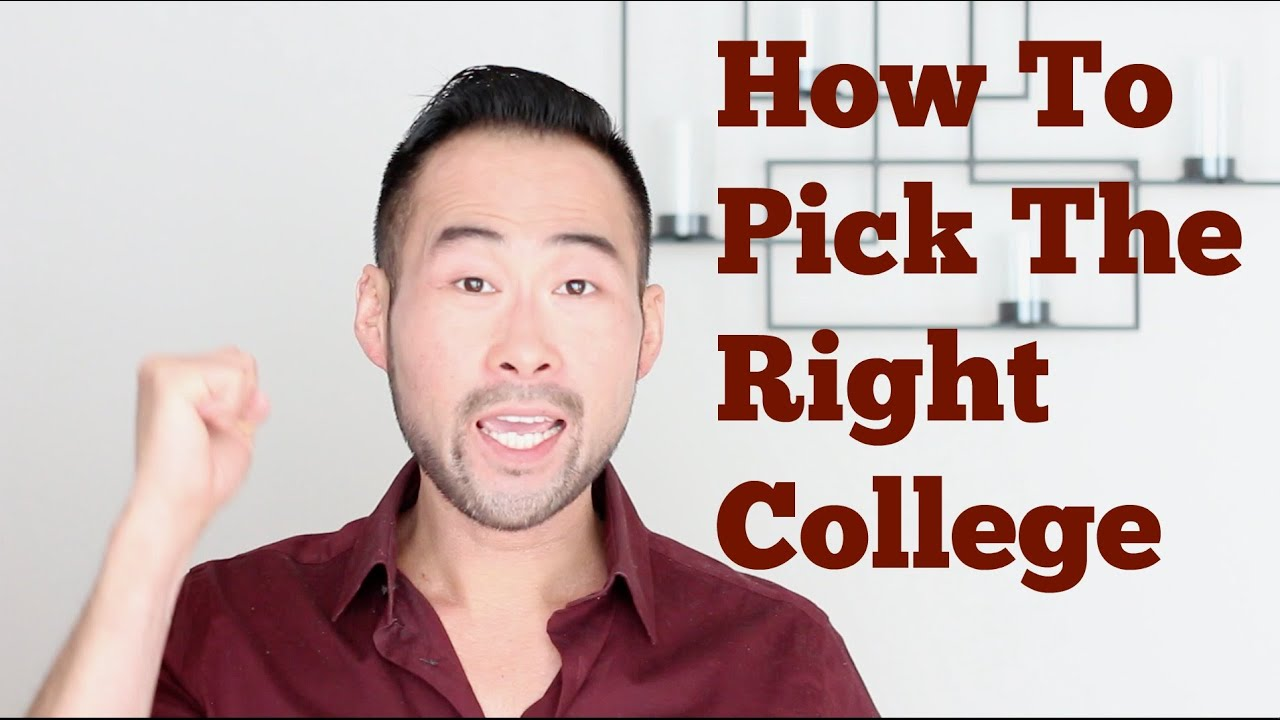 how to choose the right college or university for you how to choose the right college or university for you