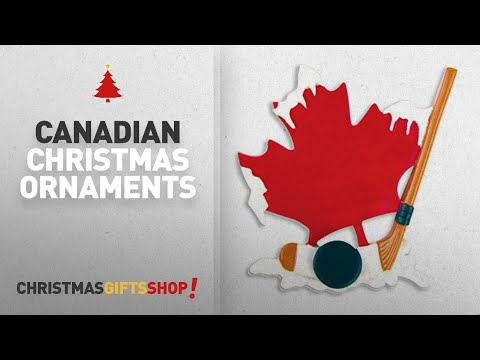 Canadian Christmas Ornaments Ideas: PERSONALIZED CHRISTMAS ORNAMENTS SPORTS- CANADIAN HOCKEY