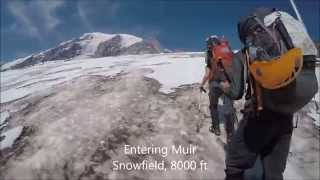[GoPro HD] Mt Rainier Summit Climb with RMI - Late Season (September) Disappointment Cleaver Route