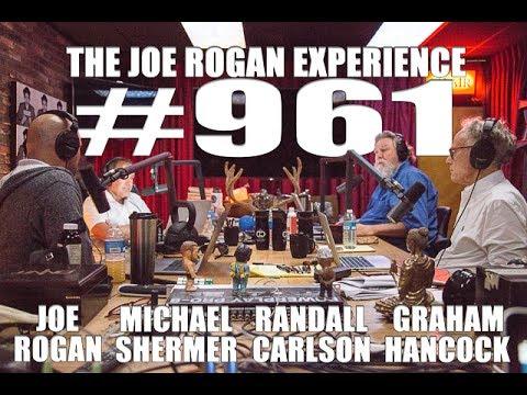 Joe Rogan Experience #961 - Graham Hancock, Randall Carlson & Michael Shermer