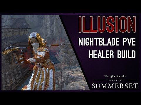 "Magicka Nightblade Healer ""Illusion"" - Summerset Chapter ESO"