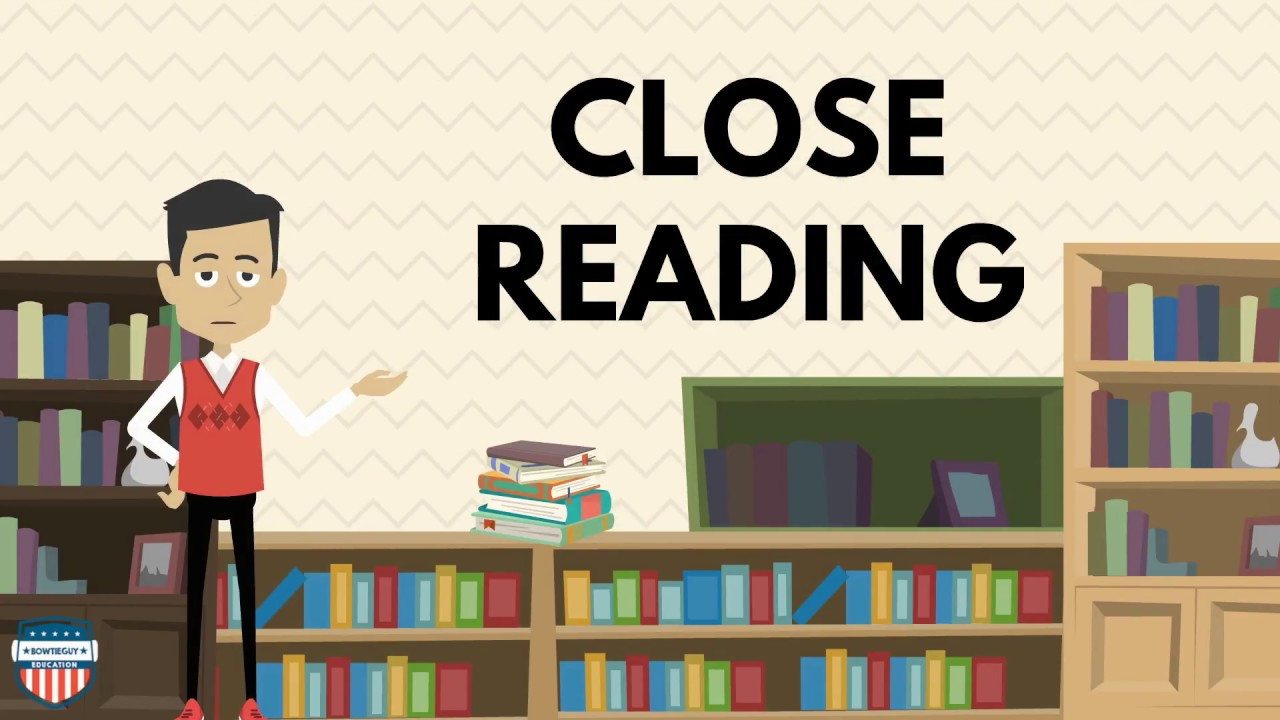 Close Reading - Reading \u0026 Literacy Educational Video for Elementary  Students #readingstrategies - YouTube [ 720 x 1280 Pixel ]