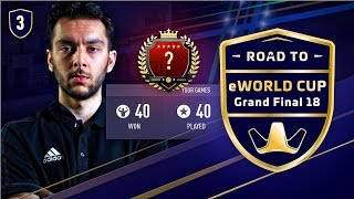 road to fifa eworld cup   40 40 fut champions gameplay   ep 3