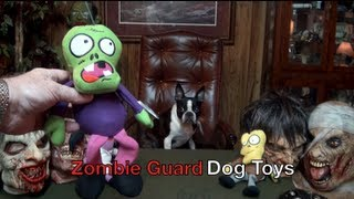 Zombie Guard Dog Training Toys