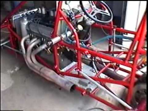 Custom Built Sprint Car Starter Youtube
