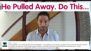 What To Do When He Pulls Away Despite Strong Feelings - Ask Mark #16