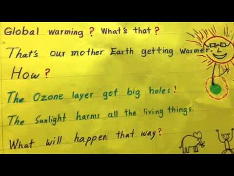 How to write a persuasive speech on global warming