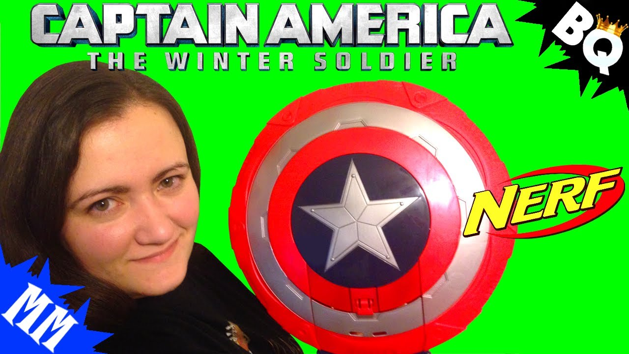 captain america nerf stealthfire shield review youtube. Black Bedroom Furniture Sets. Home Design Ideas