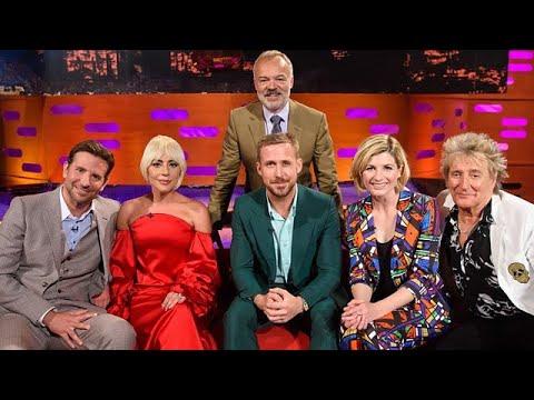 The Graham Norton Show S24E01- Bradley Cooper, Lady Gaga, Ryan Gosling, Jodie Whittaker, Rod Stewart