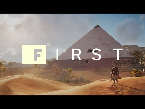 Assassin's Creed Origins: 18 Minutes of New Mission Gameplay (Xbox One X in 4K) - IGN First