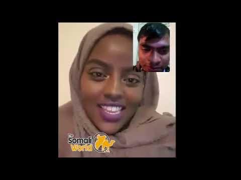 Somali girl vs Indian guy Qosolka Aduunka